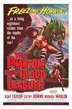 Filmposter The Phantom from 10,000 Leagues