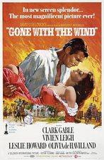 Filmposter gone with the wind