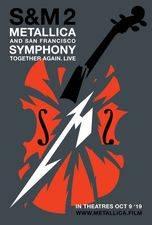 Filmposter Metallica & San Francisco Symphony: S&M2