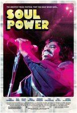 Filmposter Soul Power