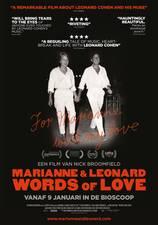 Filmposter Marianne & Leonard: Words of Love