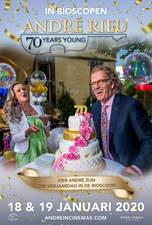 Filmposter André Rieu: 70 Years Young
