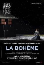 Filmposter Royal Opera House: La Bohème