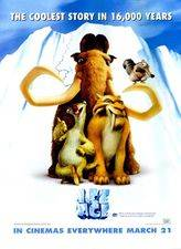 Filmposter Ice Age