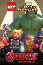 Filmposter Lego Marvel Super Heroes: Avengers Reassembled