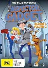 Serieposter Inspector Gadget