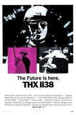 Filmposter THX 1138