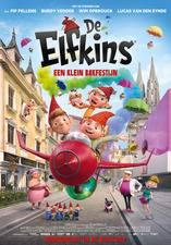 Filmposter De Elfkins - Een klein bakfestijn