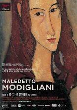 Filmposter Maledetto Modigliani