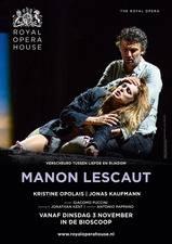 Filmposter ROH Manon Lescaut