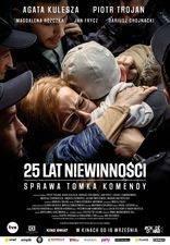 Filmposter 25 lat niewinnosci sprawa tomka komendy
