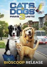 Filmposter Cats & Dogs: Slaan De Pootjes Ineen