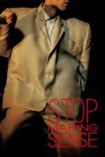 Filmposter Stop Making Sense