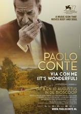 Filmposter Paolo Conte, It's Wonderful