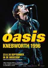 Filmposter Oasis Knebworth 1996