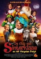 Filmposter De Club van Sinterklaas en het vergeten Pietje