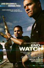 Filmposter End of Watch