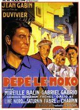Filmposter Pépé le Moko