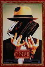 Filmposter Naked Lunch