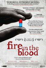 Filmposter Fire in the Blood
