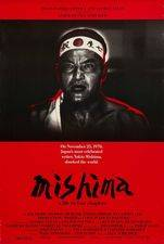 Filmposter Mishima : a Life in Four Chapters