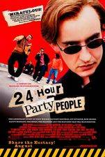 Filmposter 24 hour party people