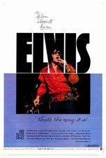 Filmposter Elvis: That's the Way It Is