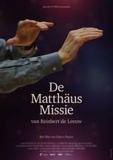 Filmposter De Matthäus missie van Reinbert de Leeuw