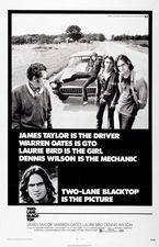 Filmposter Two-Lane Blacktop